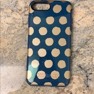 Otterbox polka dot case iPhone 7 or 8 Plus